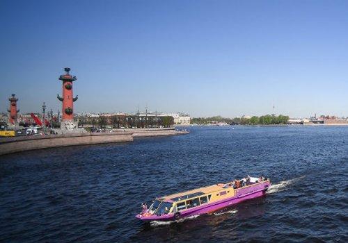 Открытие сезона водных экскурсий в Петербурге